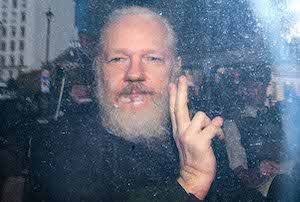 Julian Assange Appears At Westminster Magistrates Court